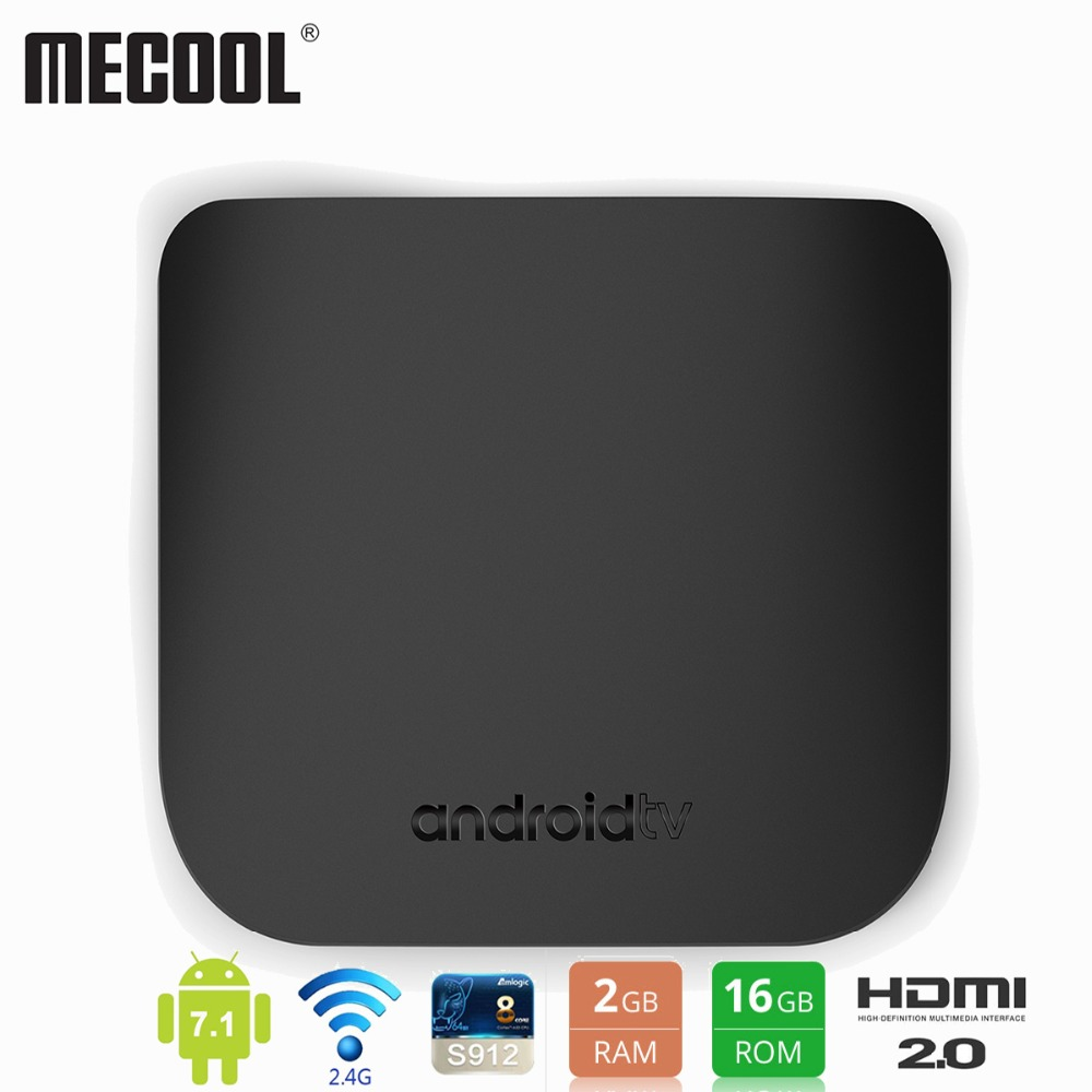 Mecool Android TV Box M8S Plus L Amlogic S912 Octa core 2GB 16GB THIN Smart Media