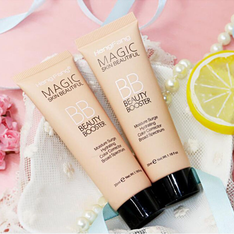 Brand HENGFANG Natural Flawless BB Cream Makeup Brighten Concealer Oil-control Refreshing Segregation Base Cosmetics 3 Colors