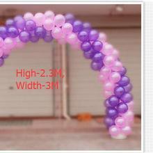 H2.3M, Свадебный шар arches набор портативный рамки шар стенд База вечерние украшения(шар+ полка+ основание+ Ouch