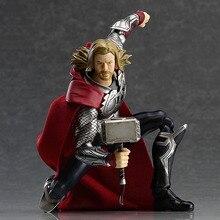 Мстители Тор Hero Marvel Аниме Figma Куклы Фигурка ПВХ Фигурку Коллекция Модель Игрушки Подарки В Коробке