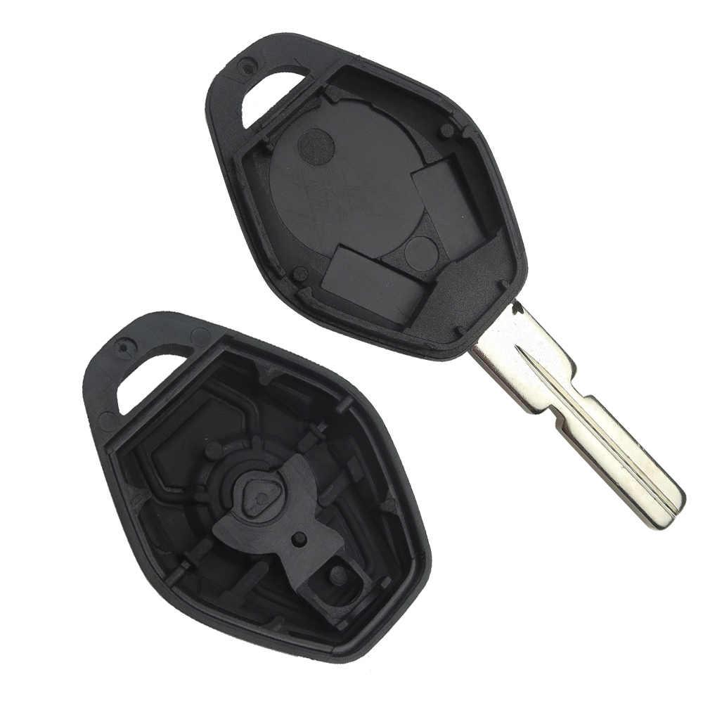 Okeytech Remote Car Key Shell Keyless Entry Fob For Bmw E46 E36 E34 E39 Z3 Z4 X3 X5 3 5 Series Key Blank 3 Buttons Key Case