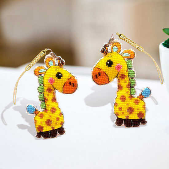 Needlework DIY Cross stitch Sets For Embroidery kit Giraffe Phone Cute Accessory cotton thread home Counted Cross-Stitching