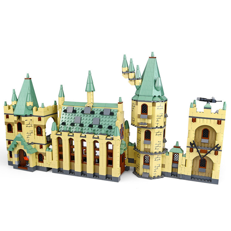 16029 16030 Hogwarts Castle School Building Blocks Set Building Blocks Bricks Toys Fit For 5378 4842 Movie Toys