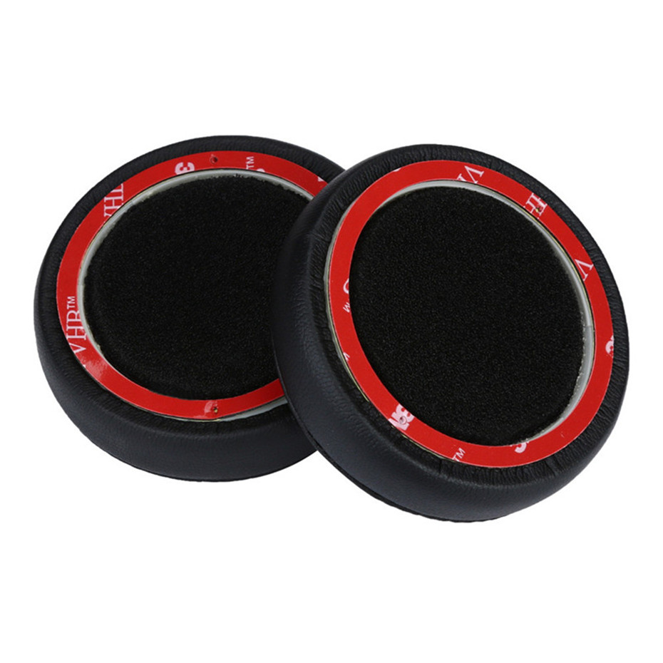 HIPERDEAL 1 Pair Replacement Protein Leather Ear Pads Ear Cushions Earphone Cover For Beats By Dr. Dre Beats EP Headphones