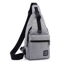 Multifunction Chest Bag USB  Adjustable Strap for women Large Storage Functions Crossbody Bags Men