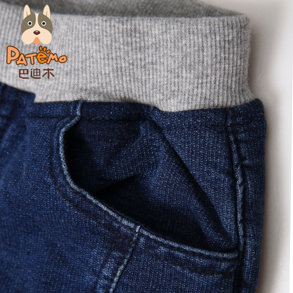 PATEMO-Jeans-for-Boys-Casual-Winter-Kids-Denim-Pants-Fashion-Knitted-Boys-Trousers-4T10T-Elastic-Waist-Jeans-for-Boy-Winter-4