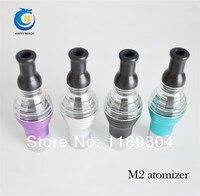 20pcs New arrival product  e cig wax vaporizer pen m2 atomizer ecig with different color vapor led wholesale