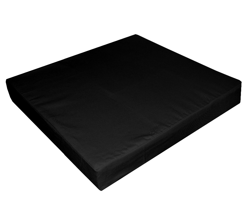 Sofa Seat Covers Only: Aa280t Black 100% Cotton A Grade Canvas Square 3D Box Sofa
