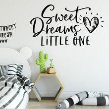 Cartoon sentence Waterproof Wall Stickers Home Decor Children House Party Wallpaper
