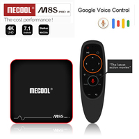 MECOOL M8S PRO W Android 7 1 S905W Mali 450 Penta Core TV Box Phone Google