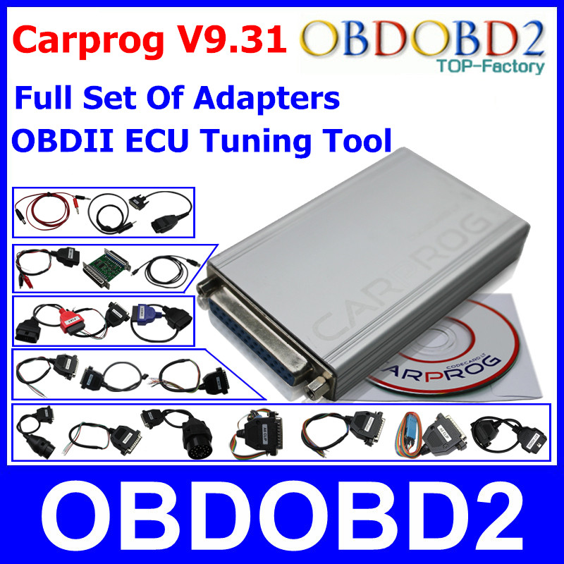 Universal Carprog V9 31 Programmer For Car Radios Odometers Dashboards Immobilizers Car Prog ECU Chip Tuning