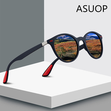 ASUOP 2019 New Fashion Round Polarized Women's Sunglasses Re