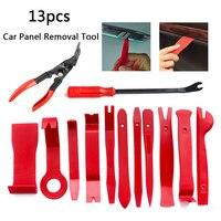 Automobile Removal Radio Door Panel Repair Tool Clip Pry Trim Dash Nail Puller Pliers Kits DIY Plastic 13PCS/Set