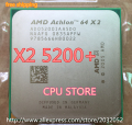 AMD Athlon 64 X2 5200+  5200 2.7Ghz 1MB Cache AM2 socket 940 pin Dual core Desktop CPU processor Free Shipping Sell X2 5000 5400