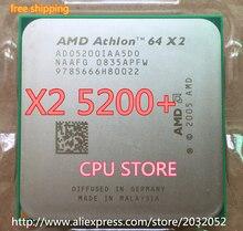 AMD Athlon 64 X2 5200+  5200 2.7Ghz 1MB Cache AM2 socket 940 pin Dual core Desktop CPU processor(working 100% Free Shipping)