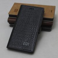 100 Genuine Leather For Xiaomi Note 3 Case Luxury Flip Cover Case For Xiaomi Redmi Note3