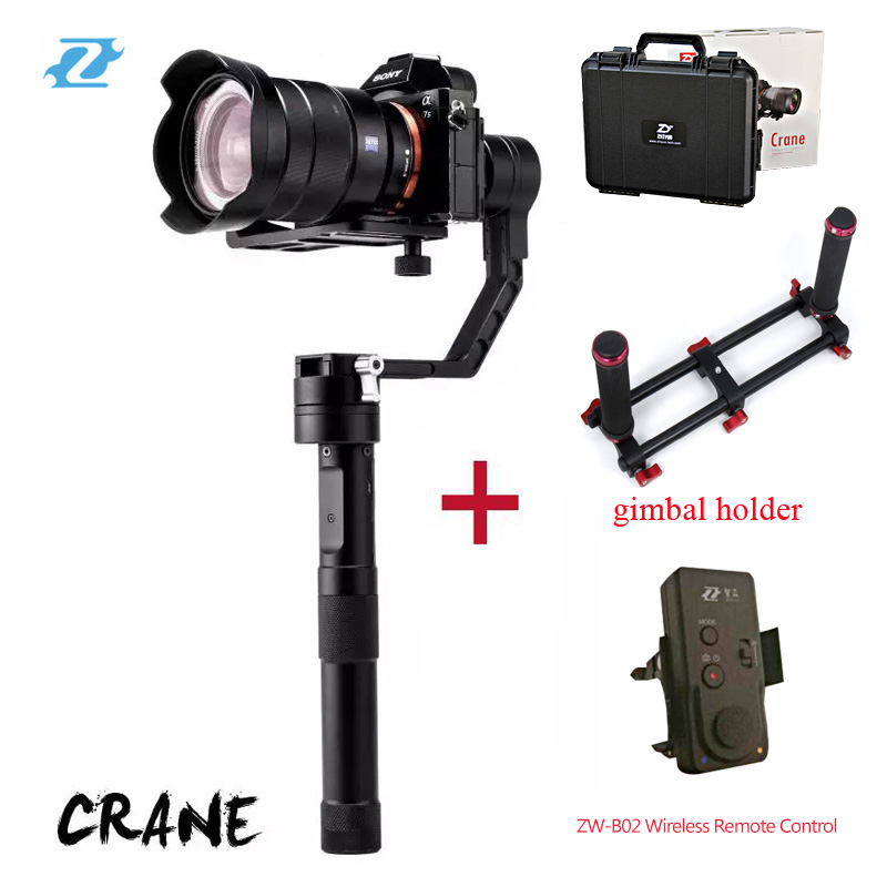 Zhiyun Crane 3 axis Handheld Stabilizer font b Gimbal b font for DSLR Canon Cameras Support