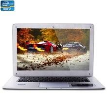 ZEUSLAP 14inch Intel Core i5 CPU 8GB RAM+120GB SSD+500GB HDD Windows 7/10 System 1920X1080P Fast Run Laptop Notebook Computer