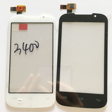 1PC/Lot White  Black Sensor For Prestigio MultiPhone PAP 3400 Duo PAP3400 Touch Screen Digitizer Glass Sensor+3M Sticker