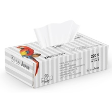 Бумажные салфетки «Family LUX» MOMI, двухслойные, 220 шт