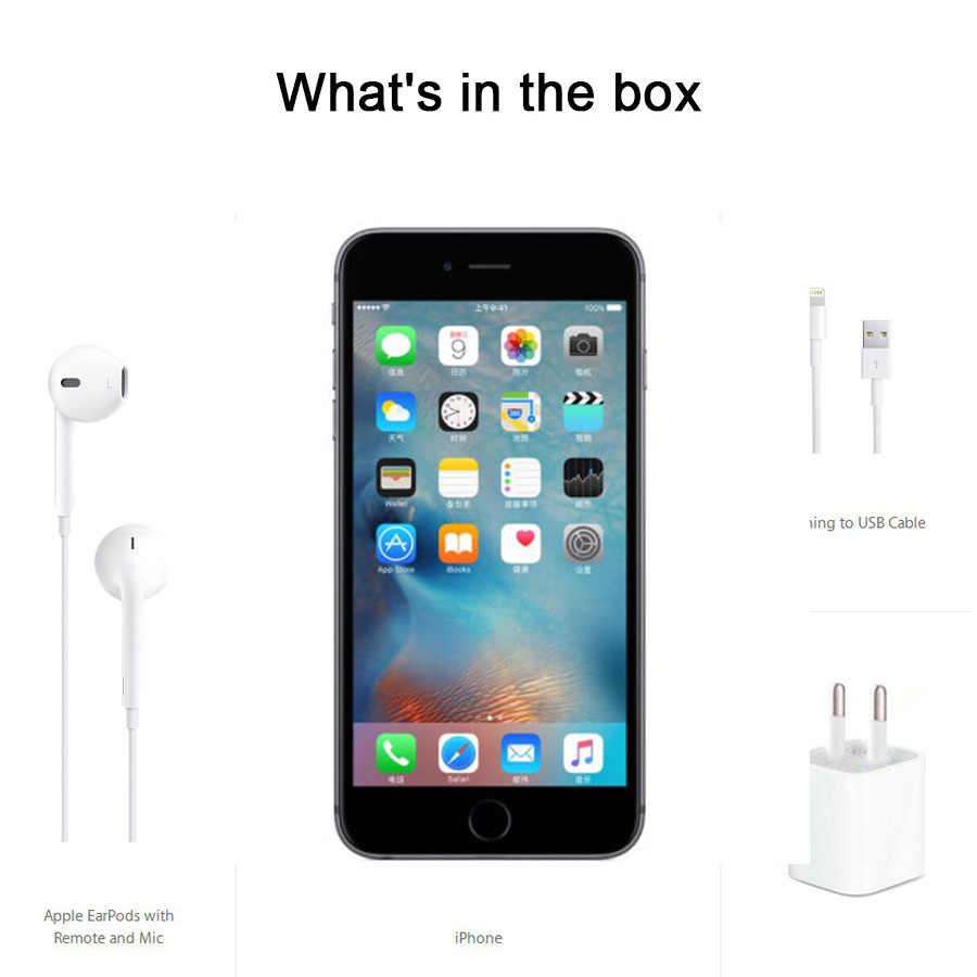 """מקורי Apple iPhone 6s 2GB RAM 16GB 64GB 128GB ROM 4.7 """"iOS ליבה כפולה 12.0MP מצלמה טביעות אצבע סמארטפון 4G LTE טלפון נייד"""
