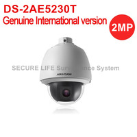 Free Shipping DS 2AE5230T 2MP English Version HD1080P Turbo PTZ Dome Camera 30x Optical Zoom
