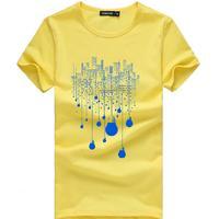2017 New Fashion Summer Short Men T Shirt Brand Clothing Cotton Comfortable Male T Shirt Tshirt
