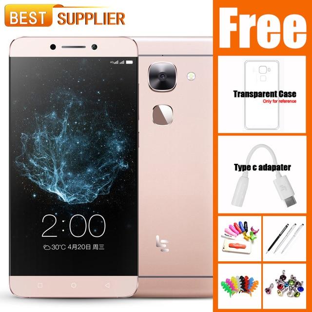 "Le2 Pro Letv LeEco Le 2 Pro MTK Helio X20/X25 DecaCore 4GB RAM 32GB ROM FDD 4G LTE Mobile Phone 5.5"" 21MP Fingerprint"