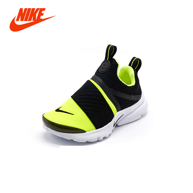 Original New Arrival Authentic NIKE PRESTO EXTREME Kids Boy Girl Running  Shoes Sneaker Lightweight Damping Breathable Size 28-35