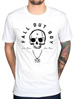 New 2017 Fashion Awdip Men S Official Fall Out Boy Skull T Shirt Vintage Chicago Illinois