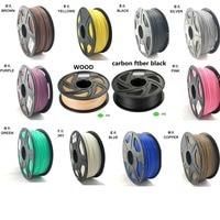 USA materi Top Quality Brand 3D Printer Filament 1.75 1KG PLA ABS Wood TP PP PC Metal Plastic Filament Materials for RepRap