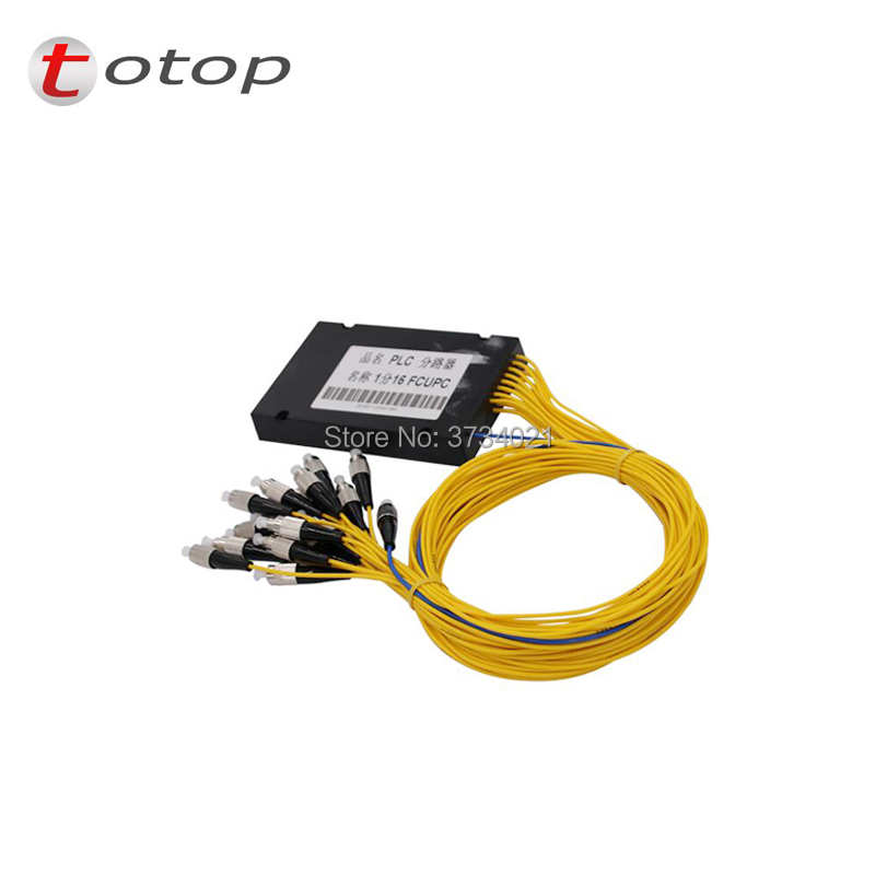 ABS FC UPC 1X 16 Single mode PLC Splitter splitter fiber optic FTTH for best price