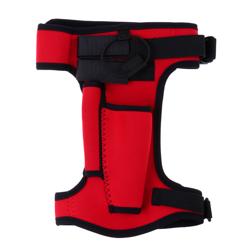 Neoprene Sheath With Adjustable Strap For Scuba Diving Snorkeling Technical Diving Equipment Scuba Diving Snorkeling Gear