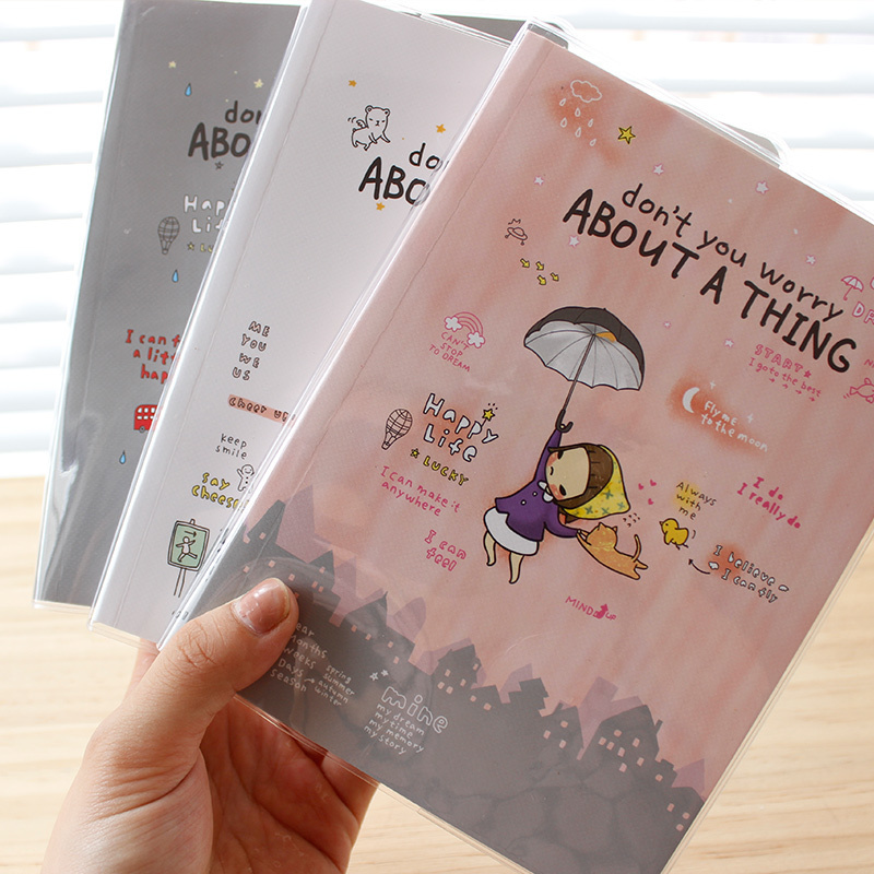 Cute Notebook Lovely Girl Agenda Weekly Plan Diary Book Day Planner Schedule Kawaii Memo pad School Office Stationery - cui chang's store