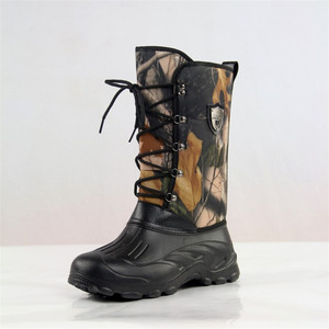 New Outdoor Camo Hunting Boots