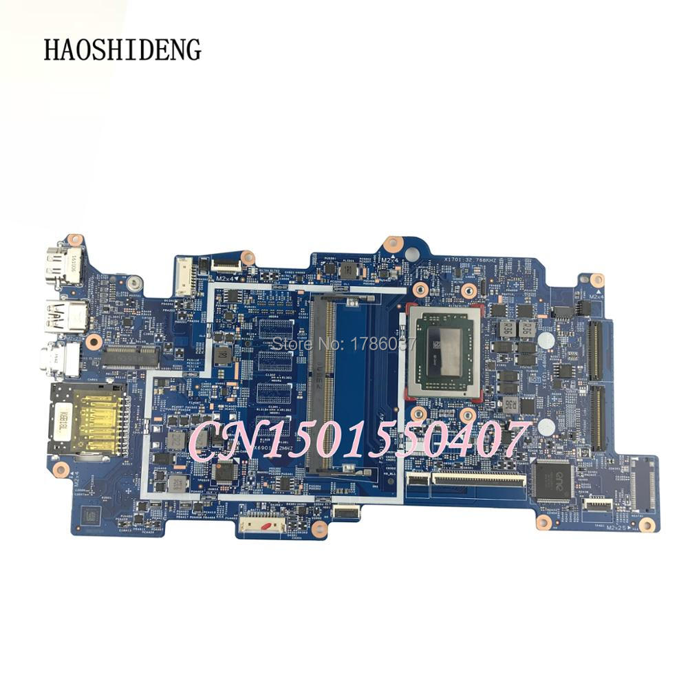 HAOSHIDENG 856307-601 856307-501 for HP ENVY X360 CONVERTIBLE 15-AR M6-AR Series motherboard with FX-9800P cpu All fully Tested free shipping 765736 501 for hp envy 15 q 15t q motherboard with sr1pz i7 4712hq gtx 850m 4gb all functions 100