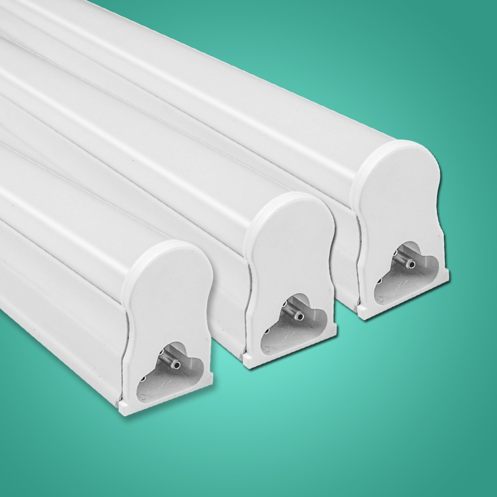 LED Tube T5 Fluorescent Bulb Light Integrated T8 Wall Lamp Lampada 30CM 60CM 1ft 2ft 6W 10W Cold Warm White 110V 220V 240V rayway led tube t5 lights bulbac 85 265v 30cm 5w 1ft leds fluorescent lamp led wall lamps bulbs light pvc plastic 5pcs