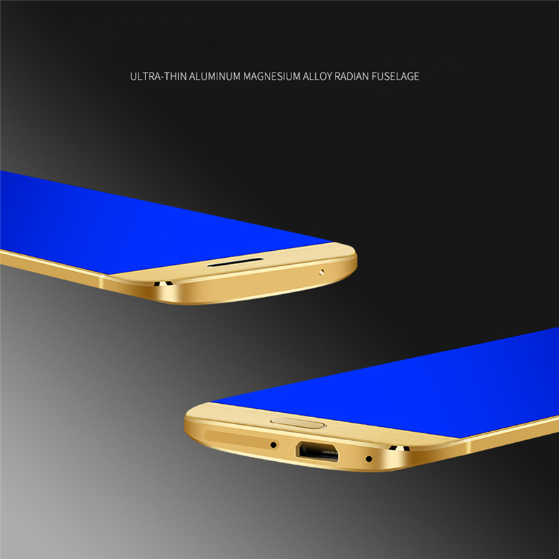 Original Ulcool V26 Mobile phone ultra-thin metal body bluetooth 2.0 dialer dual SIM credit card mobile cell phone