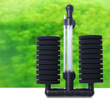 Aquarium Filter for Fish Tank Air Pump Skimmer Biochemical Sponge Bio Filtro Aquario Practical