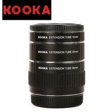 KOOKA KK-O68 Copper Extension Tube Set TTL Exposure Close-up Image for Olympus OM 4/3 Mount Cameras (12mm 20mm 36mm)