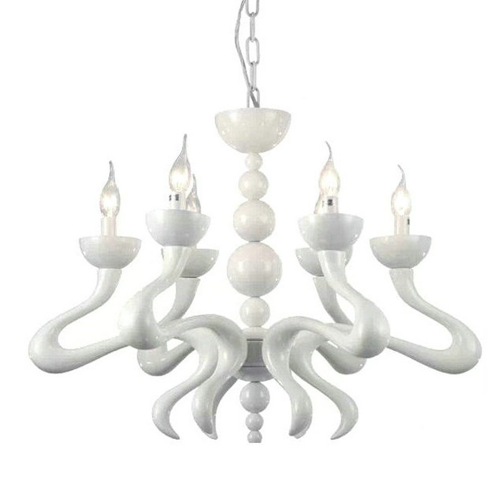 compare prices on white chandelier modern online shoppingbuy low  - new modern art of creative led white chandelier lighting decoration lampliving room restaurant(china