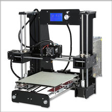 NEW A6 12864 LCD Reprap Prusa i3 3D Printer DIY Kit 220 220 250mm express delivery