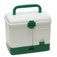 Extra Large Household Multi Layer First Aid Kit Multifunctional Medicine Box Free Shipping