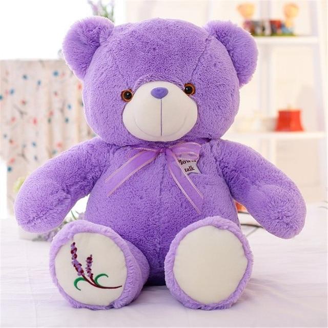 Плюшевый светящийся медведь 50 см
