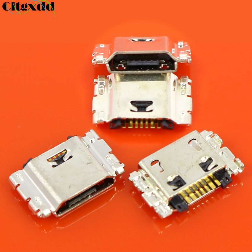 7 Pin Micro USB Jack Socket Charging Port Connector For Samsung Galaxy J100 J3 J300 J500 J500F J5 PRO 2016 J320 J320F
