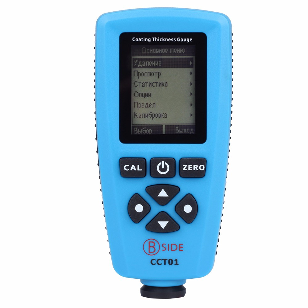 Высокая точность прибор для измерения ширины толщиномер автомобильная краска Толщина тестер BSIDE CCT01/CCT02