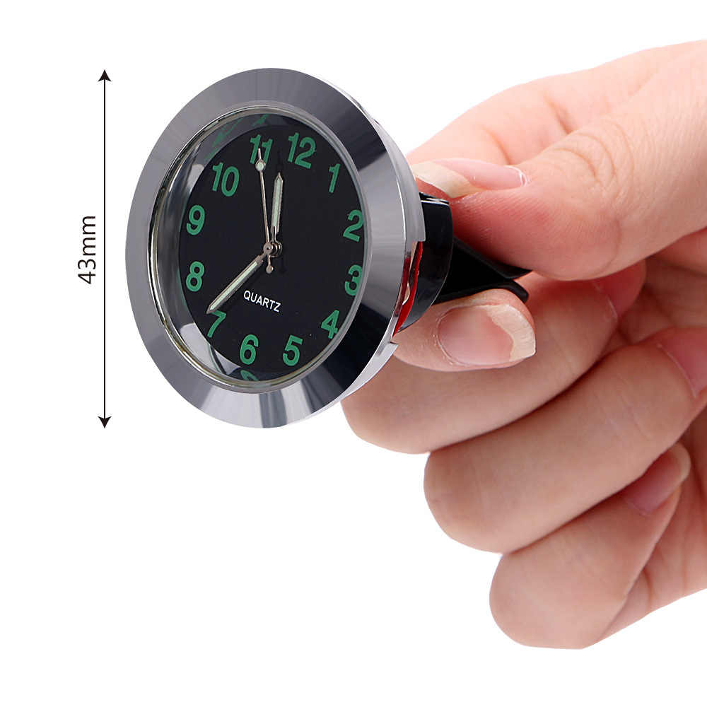 Mini Car Automobile Digital Clock Auto Watch Automotive Thermometer Hygrometer Decoration Ornament Clock In Car Accessories