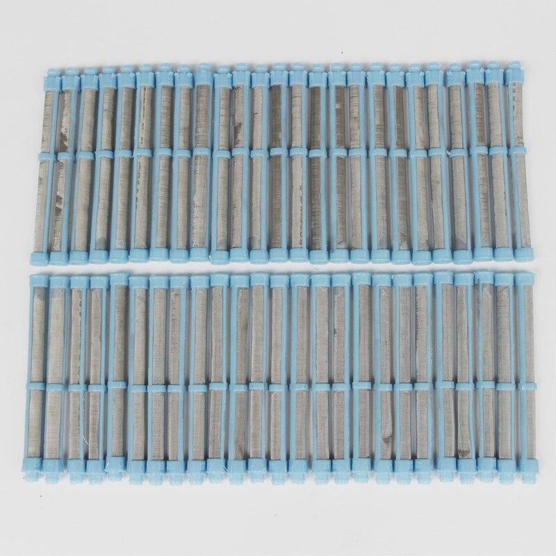 50 sztuk 100 Mesh Airless pistolet filtr do Graco Airless pistolet do malowania Spray narzędzia w Zestawy elektronarzędzi od Narzędzia na AliExpress - 11.11_Double 11Singles' Day 1