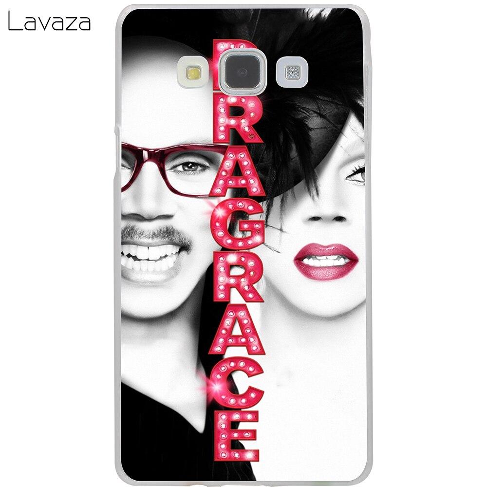 Lavaza RuPauls Drag Race Hard Case for Samsung Galaxy J5 J7 J3 2017 J1 2016 2015 J2 Prime Pro Ace 2018