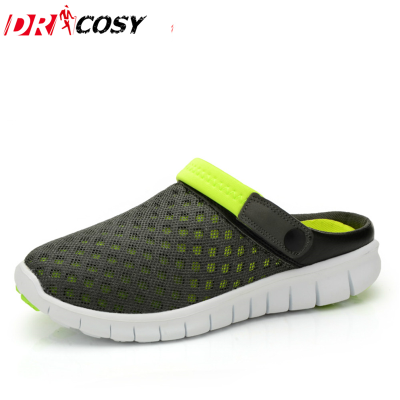 New Summer Couples Breathable Retro Clog Sandals New Women 's Comfortable Hole Flip-Flops, Clogs Sandal Shoes Wholesale & Retail joy toy машина инерционная нива милиция